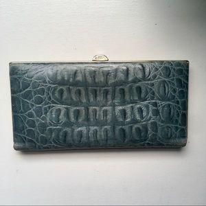Lodis Crocodile Leather Wallet